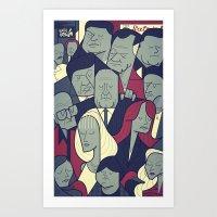 The Sopranos Art Print