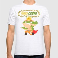 The Ruthless Kingcobra Mens Fitted Tee Ash Grey SMALL