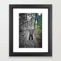 Color Phantom B Framed Art Print