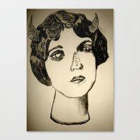 1922 Lila Lee portrait Canvas Print