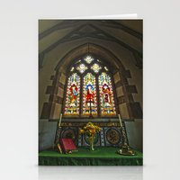 Church Alter Stationery Cards