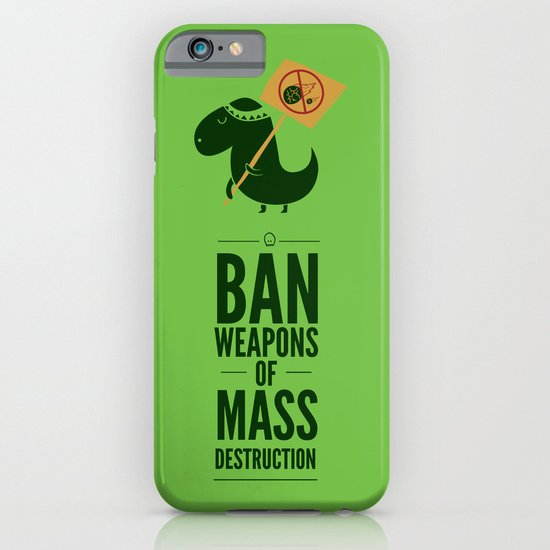 Occupy Jurassic Park iPhone & iPod Case