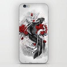 Black Koi iPhone & iPod Skin