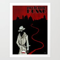 Profondo Rosso Tribute Art Print