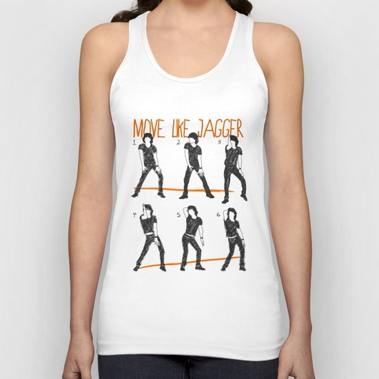 Move Like Jagger (MOVE LIKE COLLECTION) Unisex Tank Top