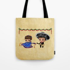 Mexican Chibis Tote Bag