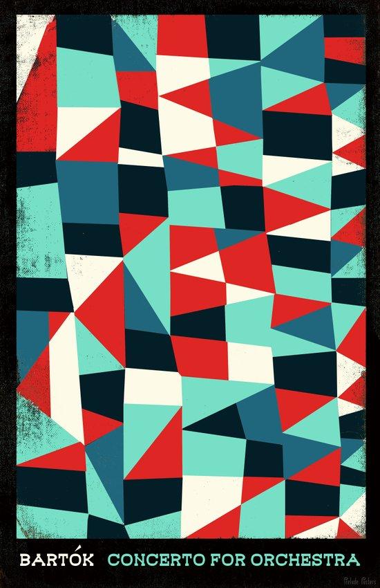 Bartok - Concerto for Orchestra Canvas Print