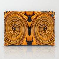 Orange swirl iPad Case