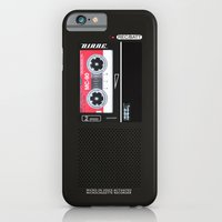 iPhone Cases featuring Diane, Dale Cooper's Tape Recorder Case by Welcome to Twin Peaks