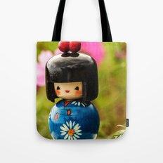 Kokeshi Love Tote Bag