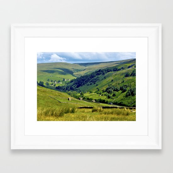 Yorkshire Dales Views Framed Art Print
