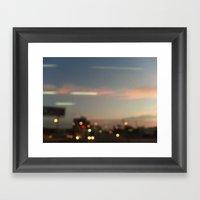 BKK SKY Framed Art Print