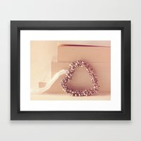 Light Of Heart Framed Art Print