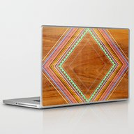 Laptop & iPad Skin featuring Aztec Arbutus by Jenny Mhairi