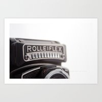 Rollei Love Art Print