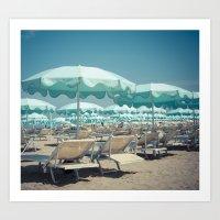 Rimini Beach 2 Art Print