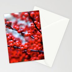 Festive Berries 2 Stationery Cards
