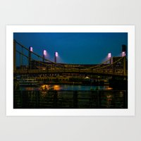 PNC Park pathways Art Print