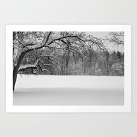 Winters Reach - A Snow L… Art Print
