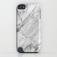 iPod Touch Cases featuring Marble by Patterns and Textures