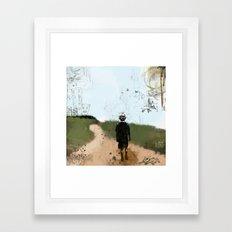 Walk Into My World Framed Art Print
