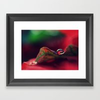 A Gift For The Season Framed Art Print