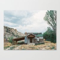 House outside of Zion Canvas Print