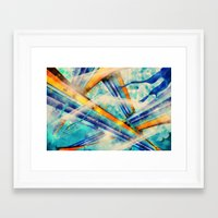 ABSTRACT - Vintage Versi… Framed Art Print