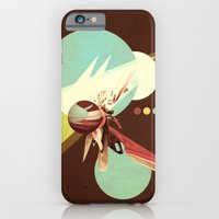 iPhone & iPod Case featuring Vintage Space Poster Series I - Explore Space - It's Fun! by Andre Villanueva