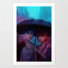 Life Is Strange - Chloe & Max Art Print