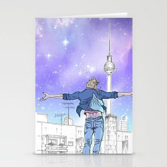 Until The Daylight - Berlin Comic - Piece 2 Stationery Card