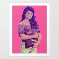 80/90s - San... Art Print