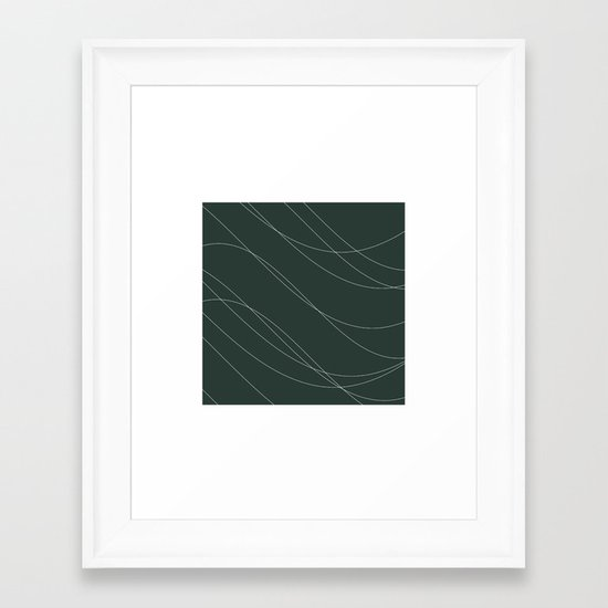 #239 Avalanche – Geometry Daily Framed Art Print