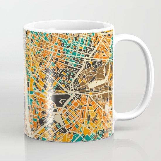 London Mosaic Map #3 Mug