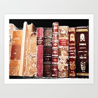 books Art Prints featuring Books by Regan's World