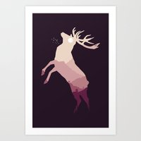 Art Print featuring Into The Wild by filiskun
