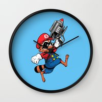 Super Rocket Wall Clock