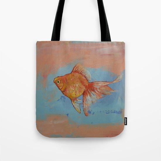 Ryukin Goldfish Tote Bag