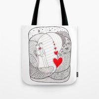 Enamorados En El Sueño … Tote Bag