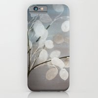 WHITE PAPER FLOWERS iPhone 6 Slim Case