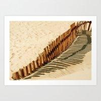 Bolonia Beach Art Print