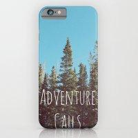 iPhone & iPod Case featuring Adventure Calls by Sarah Skupien