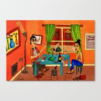 That Kind Of Date Canvas Print