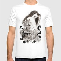 The Dragon's Gate Mens Fitted Tee White SMALL