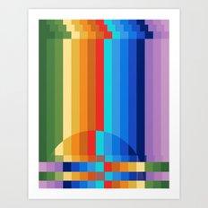 Waterfall Frustration Art Print