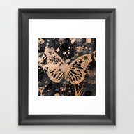 Butterfly 4 Framed Art Print