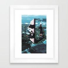 time foyer Framed Art Print