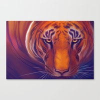Solar Tiger Canvas Print