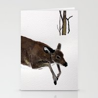 Odocoileus Virginianus Stationery Cards