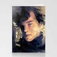 Sherlock Stationery Cards